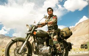 """Shah Rukh Khan in """"Jab Tak Hai Jaan."""""""