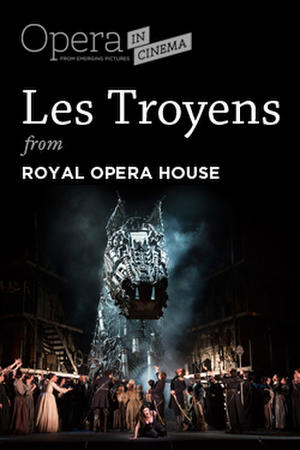 """Poster art for """"Royal Opera House: Les Troyens."""""""