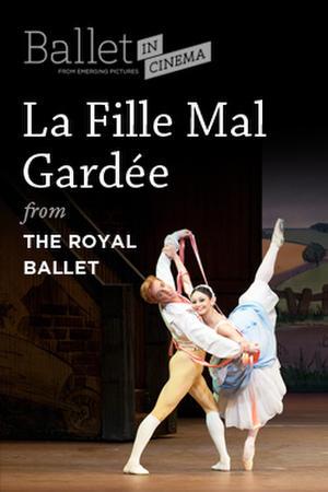 """Poster art for """"La Fille Mal Gardée."""""""