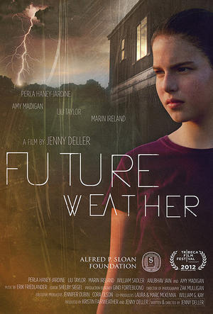 "Poster art for ""Future Weather."""