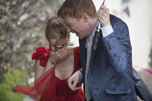 "Rachel McAdams and Domhnall Gleeson in ""About Time."""