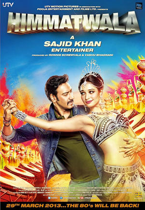 "Poster art for ""Himmatwala."""