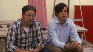 "Nick Offerman and Keith Poulson in ""Somebody Up There Likes Me."""