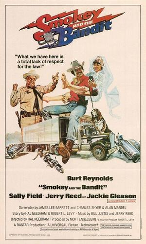"Poster art for ""Smokey and the Bandit."""