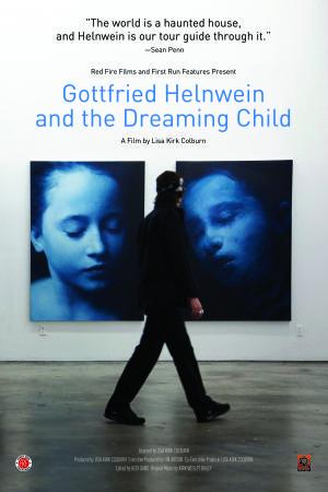 """Poster art for """"Gottfried Helnwein & The Dreaming Child."""""""