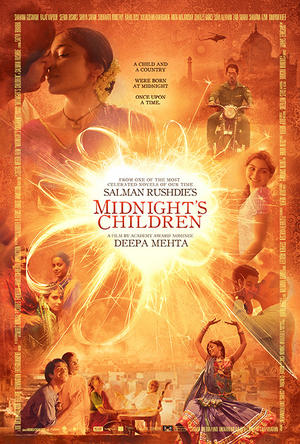 "Poster art for ""Midnight's Children."""
