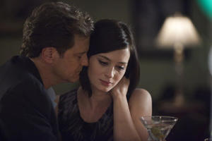 "Colin Firth and Emily Blunt in ""Arthur Newman."""