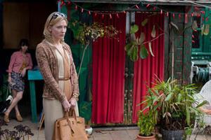 "Cate Blanchett in ""Blue Jasmine."""