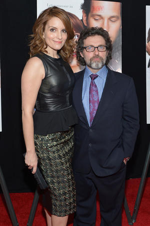"Tina Fey and Jeff Richmond at the New York premiere of ""Admission."""