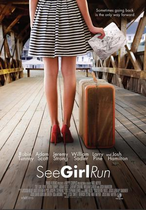 "Poster art for ""See Girl Run."""