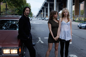 "Keanu Reeves, Bojana Novakovic and Adelaide Clemens in ""Generation Um..."""