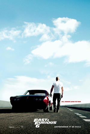 Poster art for 'Fast & Furious 6: The IMAX Experience.""