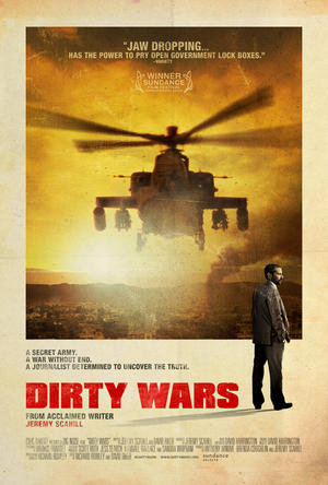 """Poster art for """"Dirty Wars."""""""