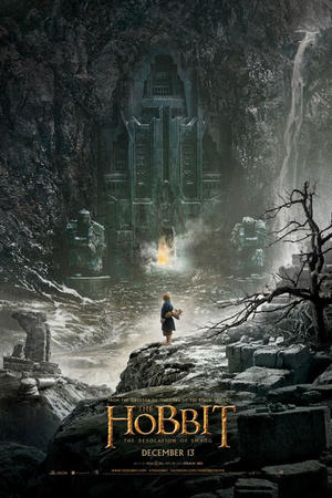 "Poster art for ""The Hobbit: The Desolation of Smaug: The IMAX Experience."""