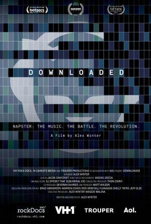 "Poster art for ""Downloaded."""