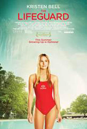 "Poster art for ""The Lifeguard."""
