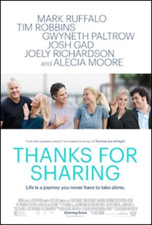 """Poster art for """"Thanks For Sharing."""""""