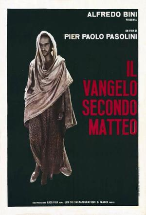 "Poster art for ""The Gospel According To Matthew."""