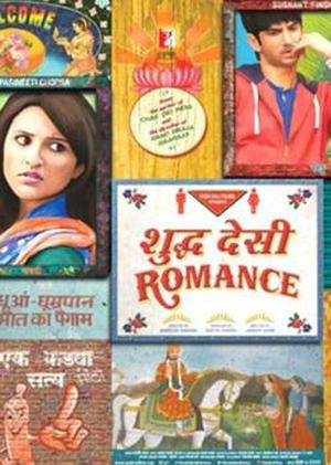 "Poster art for ""Shuddh Desi Romance."""