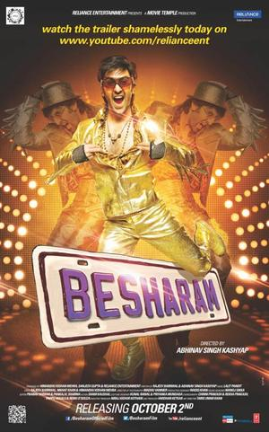 "Poster art for ""Besharam."""