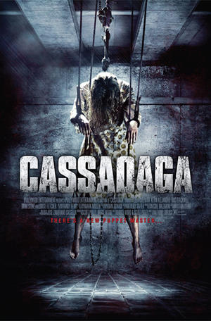"""Poster art for """"Cassadaga."""""""