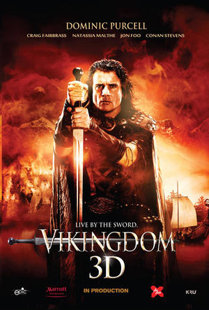 "Poster art for ""Vikingdom."""