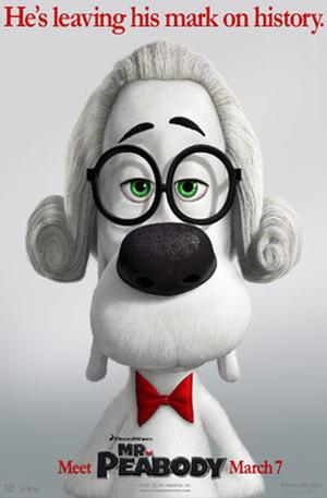 """Poster art for """"Mr. Peabody & Sherman 3D."""""""