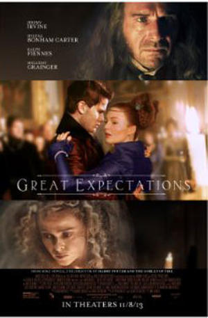 "Poster art for ""Great Expectations."""