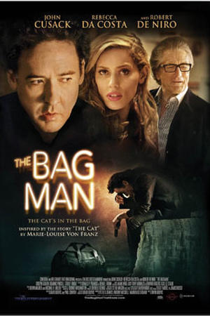 "Poster art for ""The Bag Man."""