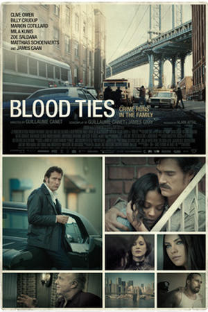 "Poster art for ""Blood Ties."""