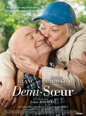 "Poster art for ""Demi-Soeur."""