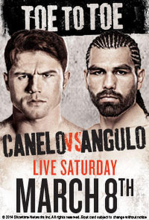 "Poster for ""Toe to Toe: Canelo vs Angulo"""