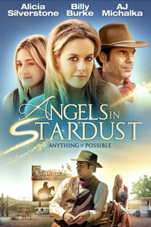 "Poster art for ""Angels in Stardust."""