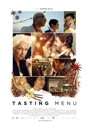 "Poster art for ""Tasting Menu."""