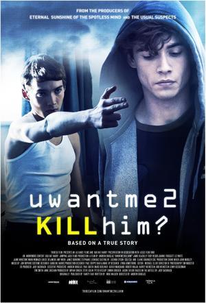"Poster art for ""uwantme2killhim?"""