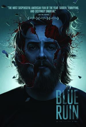 """Poster art for """"Blue Ruin."""""""