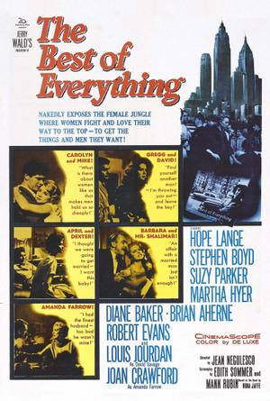 "Poster art for ""The Best of Everything."""