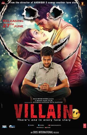 """Poster art for """"EK Villain."""""""