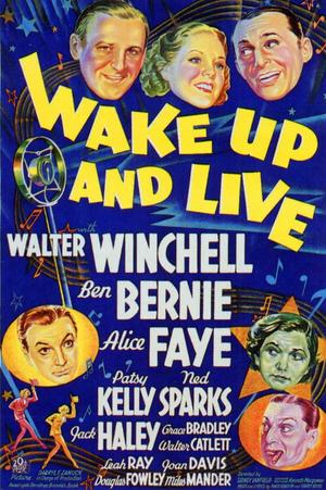 "Poster art for ""Wake Up and Live."""