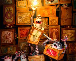Check out these scenes from 'The Boxtrolls'