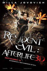 Resident Evil: Afterlife 3D showtimes and tickets