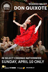 Bolshoi Ballet: Don Quixote showtimes and tickets