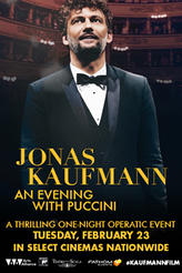 Jonas Kaufmann: An Evening with Puccini showtimes and tickets