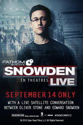 Snowden Live showtimes and tickets
