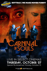 RiffTrax Live: Carnival of Souls showtimes and tickets