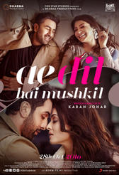 Ae Dil Hai Mushkil showtimes and tickets