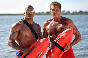 News Briefs: See Super-Buff 'Baywatch' Photos Featuring Hasselhoff, Efron and the Rock