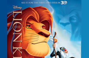 Exclusive: 'The Lion King 3D' Poster Premiere!