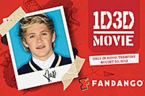 Exclusive One Direction Fandango Gift Cards Now on Sale, Plus a Chance to be Part of '1D3D'