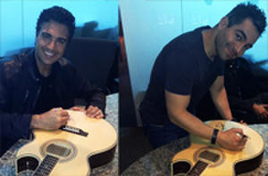 'Pulling Strings' Giveaway: Win a Signed Mariachi Guitar by Jaime Camil and Omar Chaparro